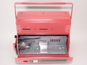 ガスカセットを温め、低温時でもガスを安定供給。