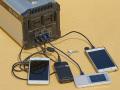 スマートフォン4台の同時充電だって可能